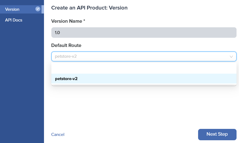Admin Dashboard Edit API Product Default